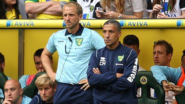 Paul Trollope and Chris Hughton