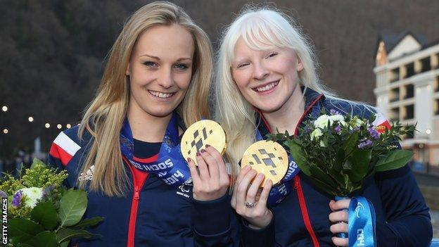 Charlotte Evans (left) and Kelly Gallagher (right)