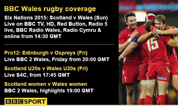 Wales rugby infographic