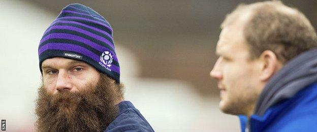 Scotland props Geoff Cross and Euan Murray