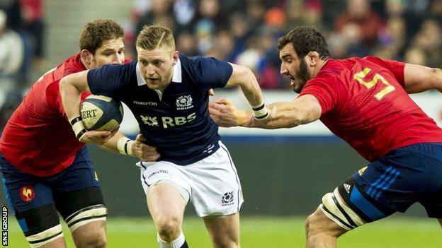Six Nations: Scotland lost 15-8 to France on the opening weekend