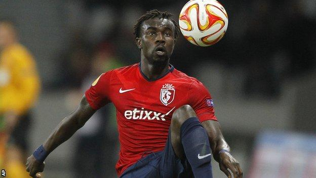 Crystal Palace defender Pape Souare