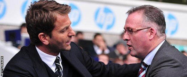 Tim Sherwood and Paul Lambert