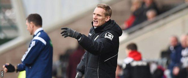 St Mirren boss Gary Teale is still searching for the club's first home win of the season.