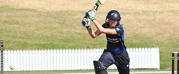 New Zealand's Amy Satterthwaite