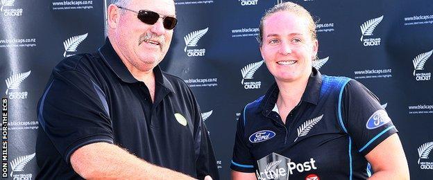 New Zealand's Rachel Priest