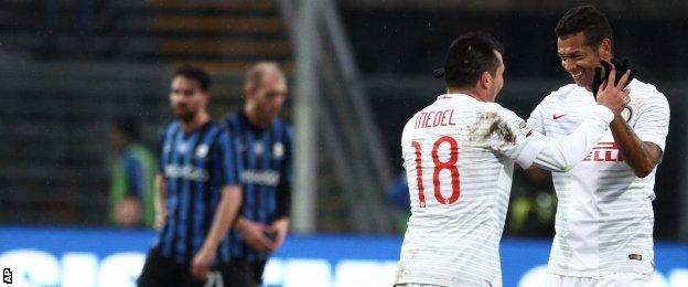 Inter's Fredy Guarin