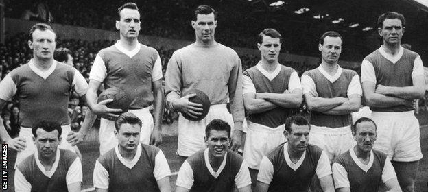 Ipswich Town team in 1962