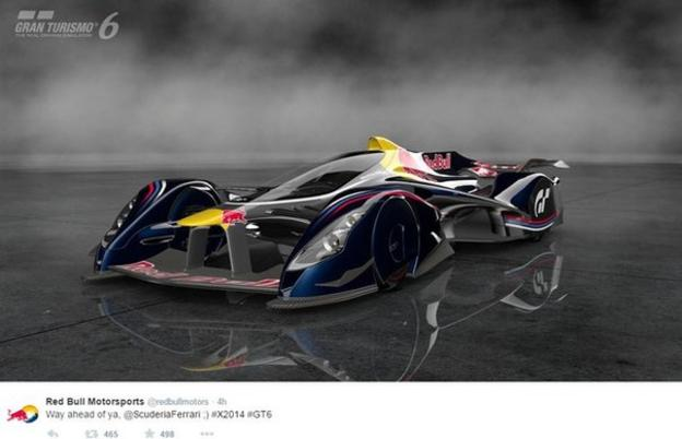 Red Bull F1 car of the future