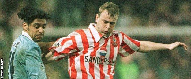 Former Southampton striker Gordon Watson