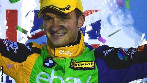 Colin Turkington won the 2014 BTCC title with West Surrey Racing