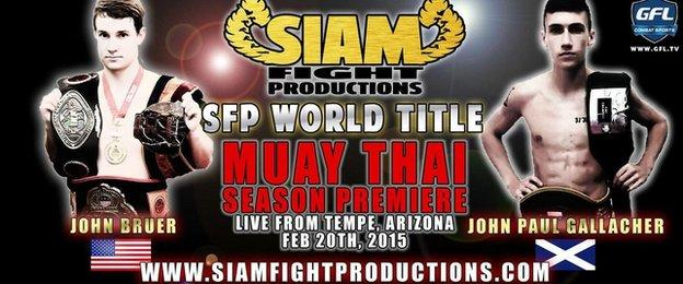 Siam Fight Productions poster