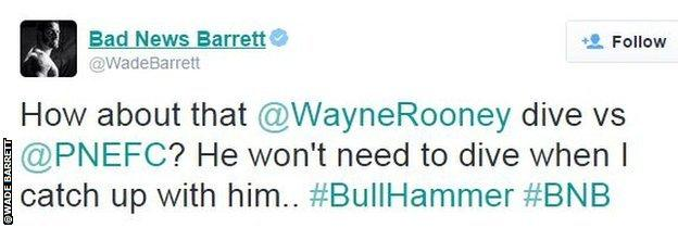 Wade Barrett twitter