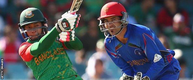 Bangladesh's Mushfiqur Rahim hits out