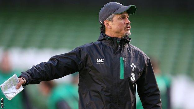 Ireland coach Les Kiss wary of England threat ahead of Six Nations clash