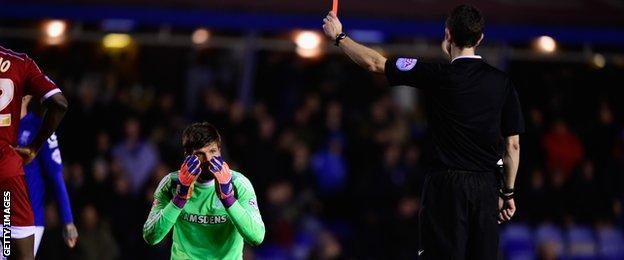 Middlesbrough goalkeeper Dimi Konstantopoulos