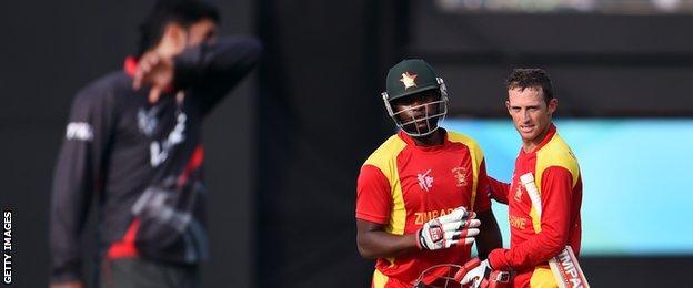 Cricket World Cup: Zimbabwe v UAE