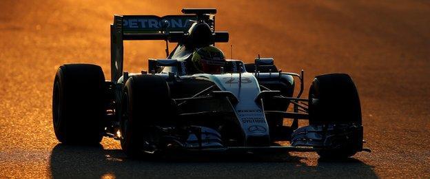 Pascal Wehrlein Mercedes GP