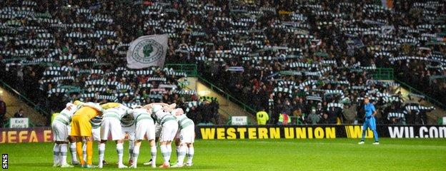 Ronny Deila says the atmosphere was like nothing else he had ever experienced