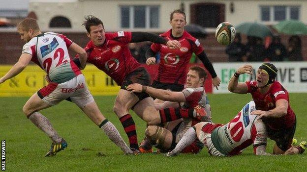 Jersey v Plymouth Albion