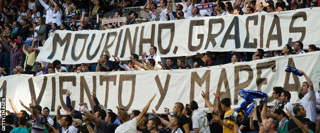 The Real Madrid fans