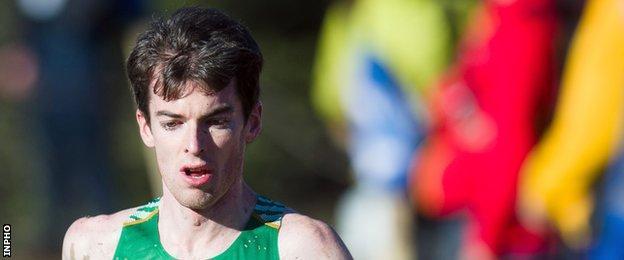 Holywood runner Paul Pollock