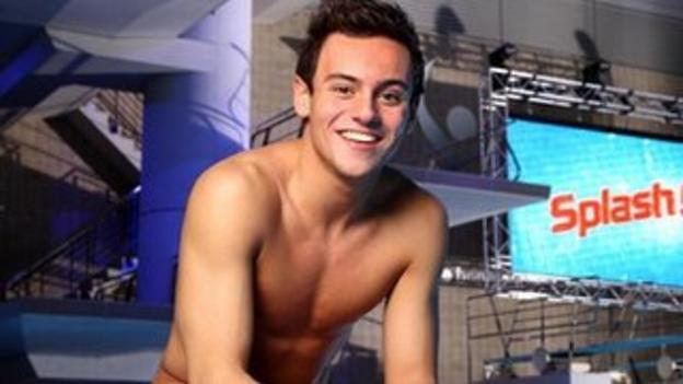 Tom Daley in Splash