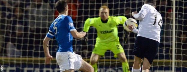 Ryan Conroy's goal could not prevent Raith slipping to defeat