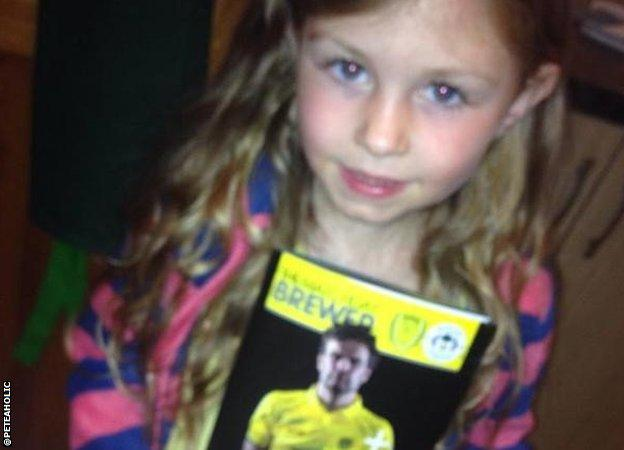 Burton Albion fan