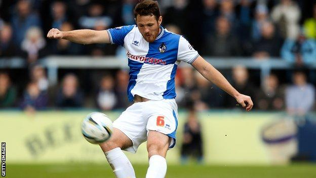 Bristol Rovers' Tom Parkes