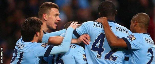 Manchester City players