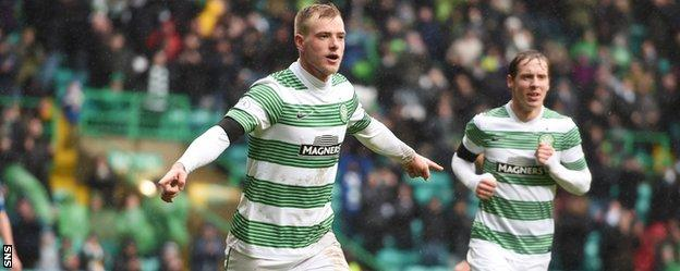 John Guidetti netted for the second match in a row after ending his goal drought against Inter Milan