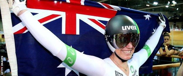 Anna Meares of Australia