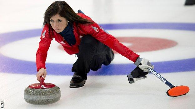 Eve Muirhead led her team to the 2015 Scottish Women's Championship.