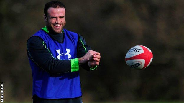 Jamie Roberts has played 26 times for Racing Metro since joining in 2013