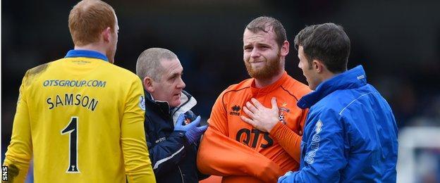 Kilmarnock defender Mark Connolly