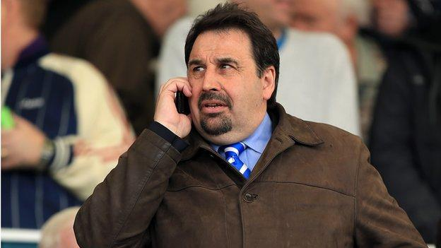 Coventry City chief executive Steve Waggott