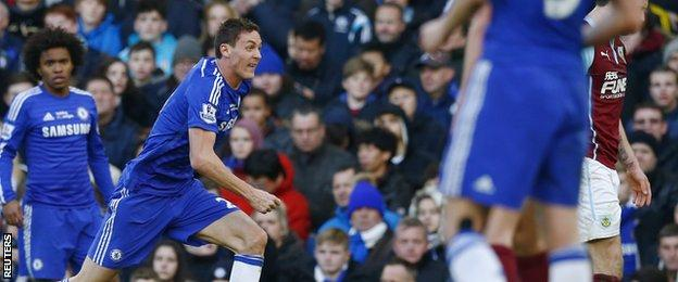 Nemanja Matic reacts angrily to Ashely Barnes' high tackle