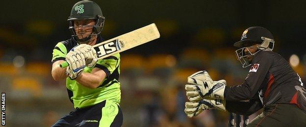 Ireland batsman Gary Wilson