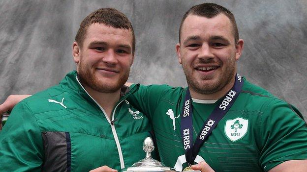 Jack McGrath and Cian Healy