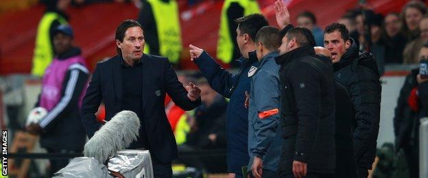 Roger Schmidt and Diego Simeone