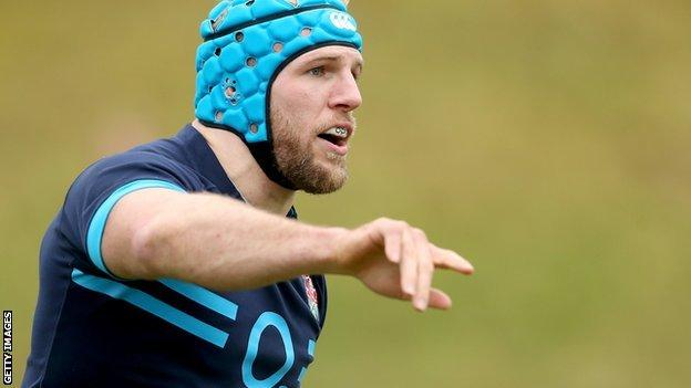 Six Nations: England's James Haskell
