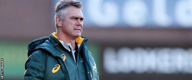 Springboks coach Heyneke Meyer