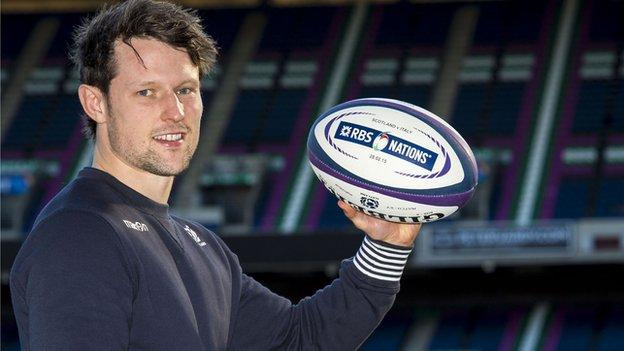 Scotland fly-half Peter Horne
