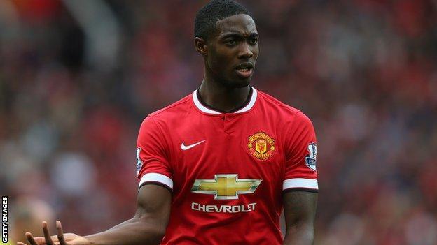 Manchester United defender Tyler Blackett