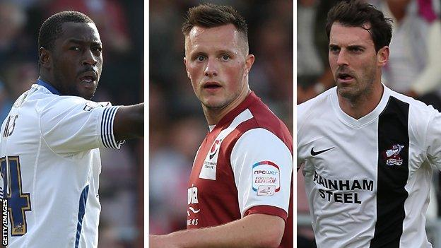Pablo Mills, Shaun Harrad, Matt Sparrow