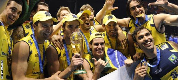 The men of Brazil didn't really give volleyball much of a thought until the late 1970s - now they are the number one team in the world