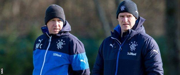 Kenny McDowall and Gordon Durie