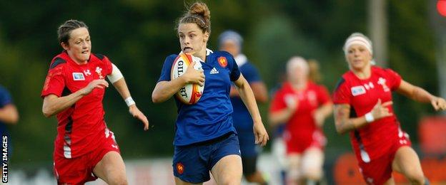 Wales lost 26-0 to France at the 2014 Women's World Cup