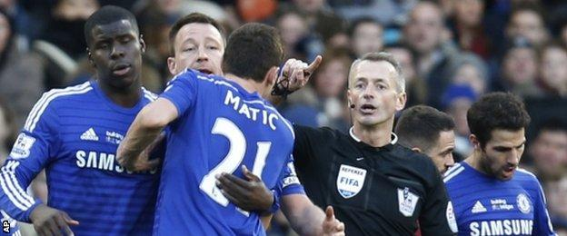 Nemanja Matic will miss Sunday's Capital One Cup final after being sent off against Burnley last weekend
